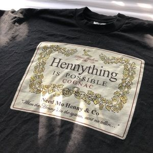 Other - Hennessy Black Tee Shirt XL